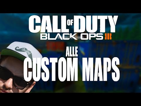 Black Ops 3 MOD TOOLS | Alle Custom Maps | Shipment, Killhouse, Hospital usw.