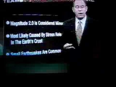 Earthquake in Maine