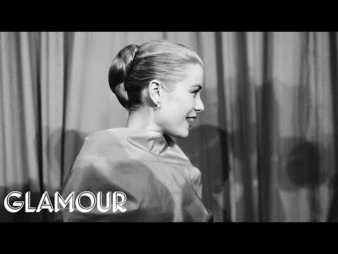 How To Copy Grace Kelly S Iconic Oscars Hairstyle Hey Hair Genius