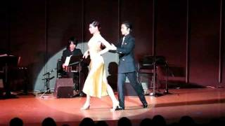 Takashi & Megumi, Argentine Tango performance at Tango Especial, to...