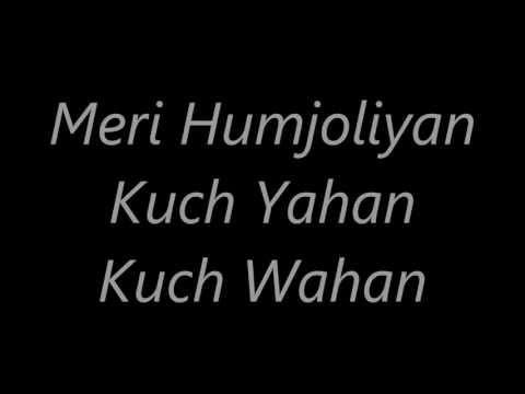 Atif Aslam's Meri Humjoliyan 's Lyrics