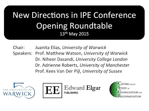 New Directions in IPE Conference 2015 Opening Roundtable
