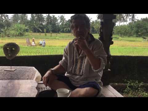 2 - Snak med Hans Krull om hans kommende balinesiske/danske kunstprojekt
