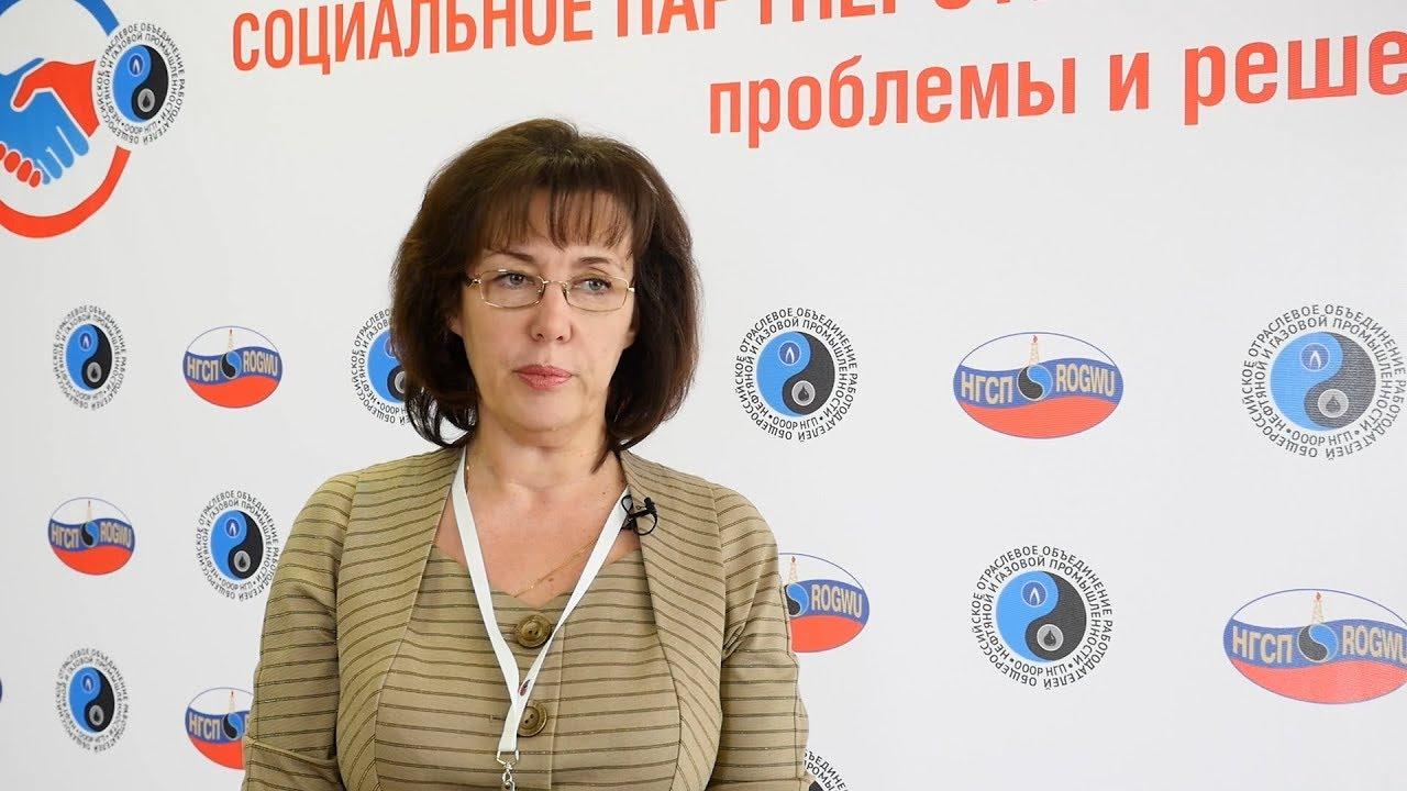 Нина Кузьмина о роли РТК в процессе социального партнерства ...