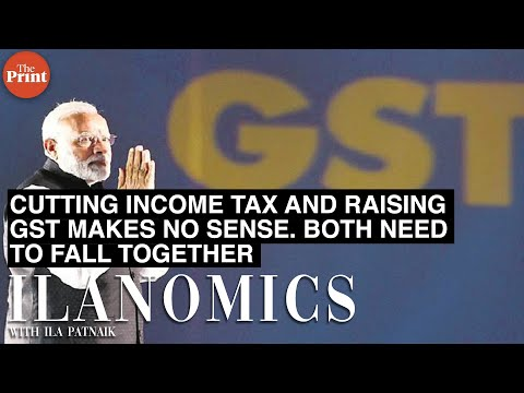 Cutting income tax and raising GST makes no sense. Both need to fall together