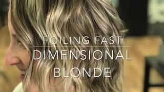 Blonde stream seen on Fine