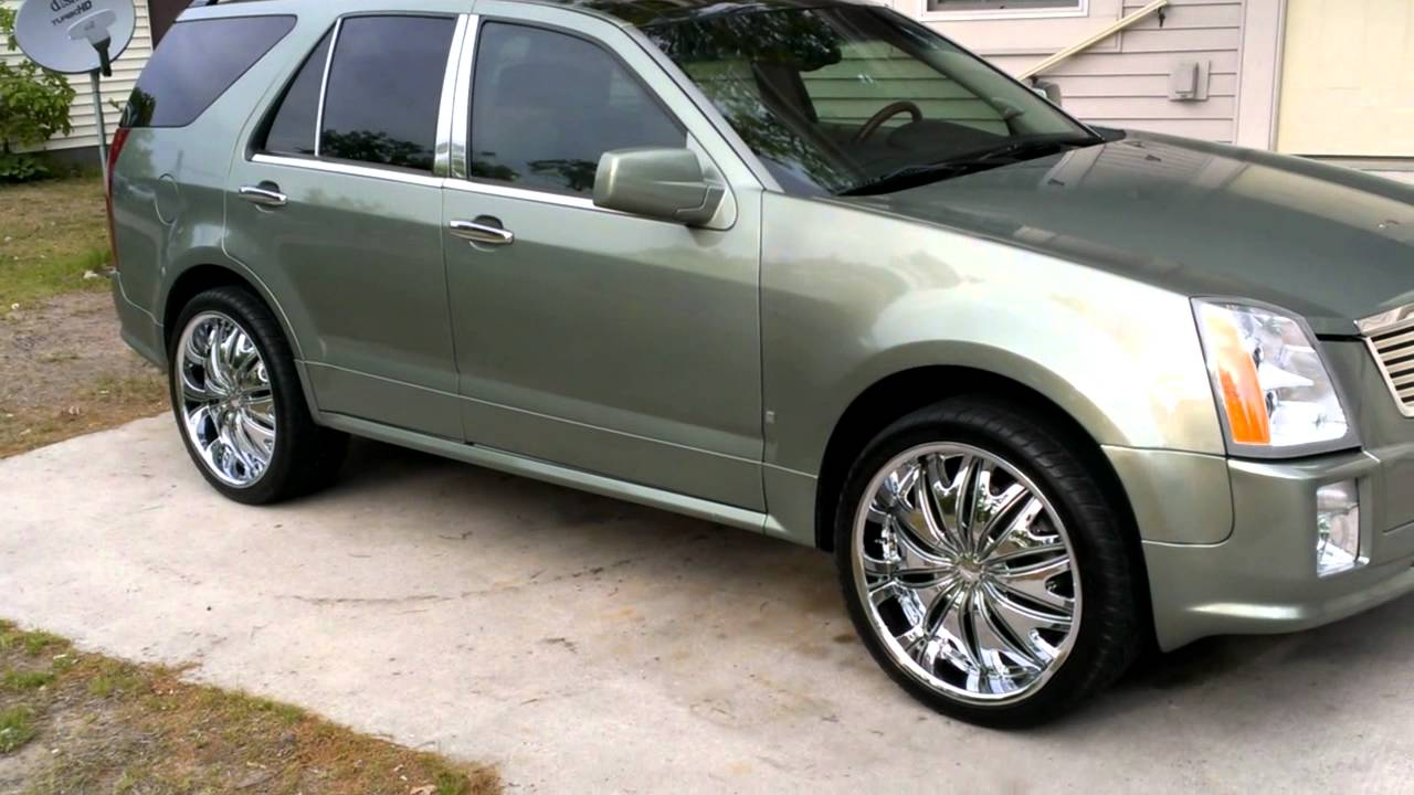 Cadillac Srx On 22 S And Cadillac Dts On 22 S Youtube