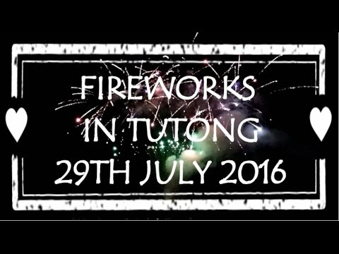 INTERESTING EVENTS IN BRUNEI: Fireworks in Tutong