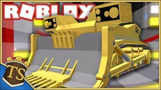 SMASH CARS IN THE ARENA, WITH GIANT BULLDOZER! -Car Crusher 2 | Danish Roblox