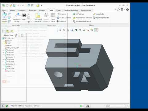 Using No Resolve Mode in Creo Parametric 2.0