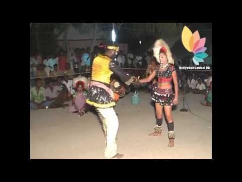 Karakattam Hot Kuravan Kurathi Dance Tamil Village Video thumbnail