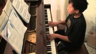 Ayo Mama a Maluku Folk Song in piano