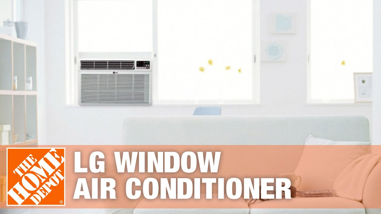 LG 6 000 BTU Low Profile Window Air Conditioner The Home Depot  #936438