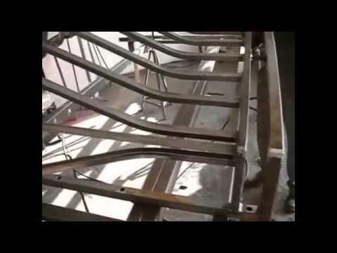 Inne rodzaje Wykonanie balustrady z profilu zamkniętego 20x20x1.2 - YouTube UI05