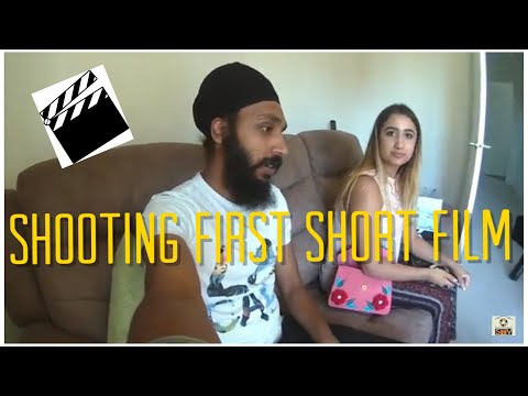 My First Short Film | Shoot Day | Vlog