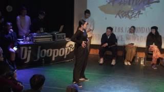 [2017 ALL ASIA WAACKING FESTIVAL KOREA🇰🇷] BEST8 Yunji vs Wizzard