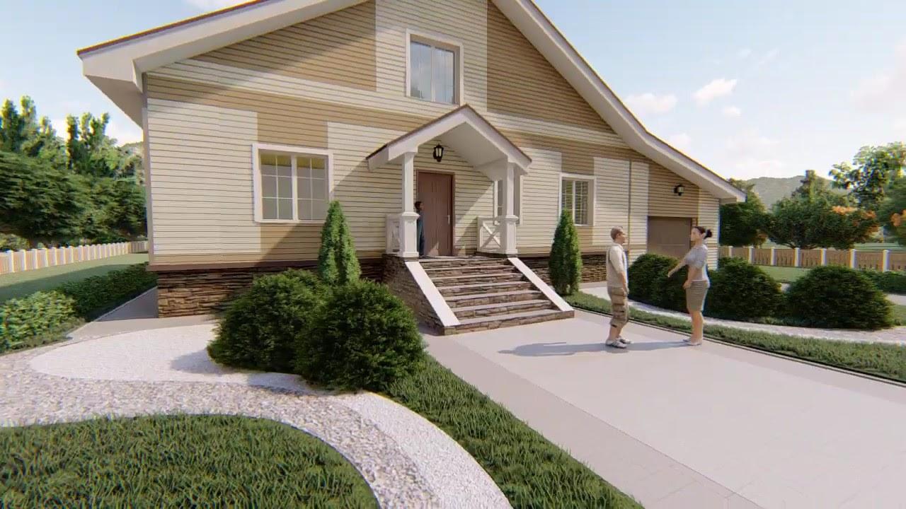 Готовый проект одноэтажного дома «Иолит»