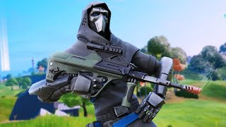 This NEW LEGENDARY BURST ASSAULT RIFLE is AWESOME! Fortnite Chapter 2 New AUG Gun