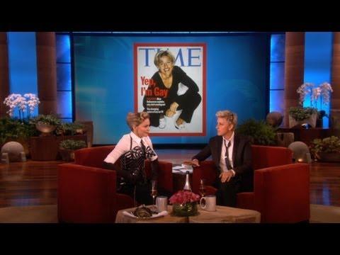 Madonna's Moving Words to Ellen