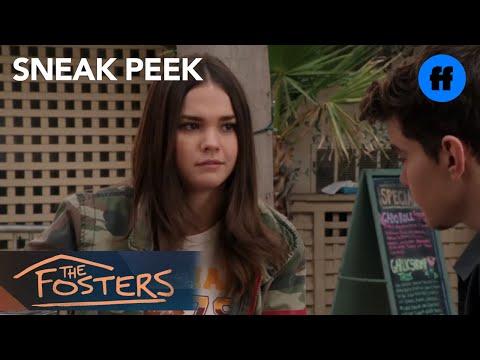 The Fosters | Season 4, Episode 18 Sneak Peek: Aaron Invites Callie to Go to LA | Freeform