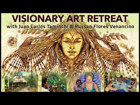 Ayahuasca Visionary Artists Retreat at Caya Shobo