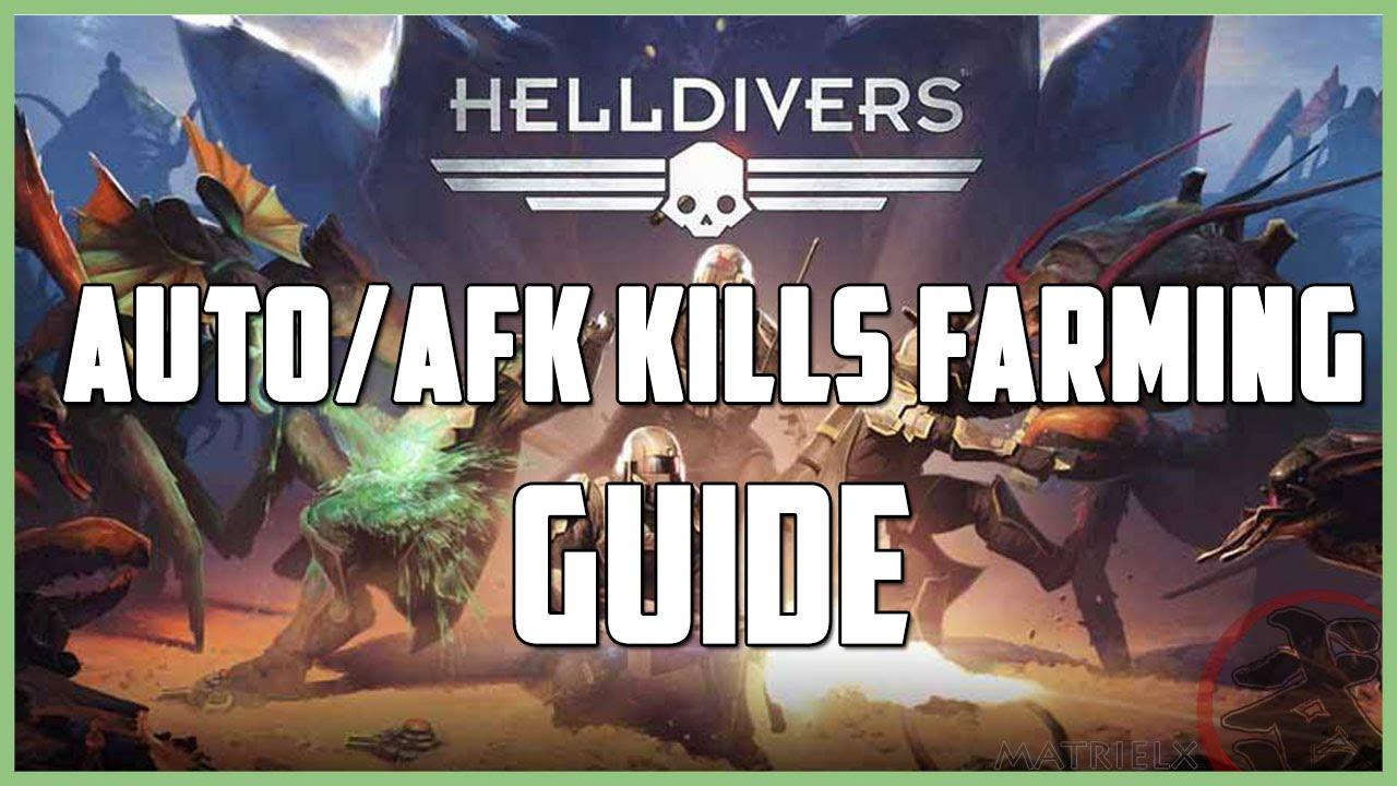 HELLDIVERS™ Auto farming kills guide [PL/ENG] - YouTube