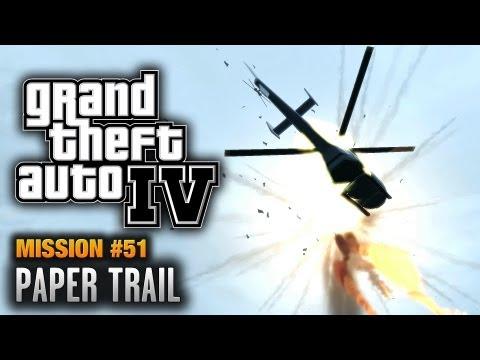 GTA 4 - Mission #51 - Paper Trail (1080p)