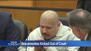 A confessed cop killer was kicked out of court for the last time on...