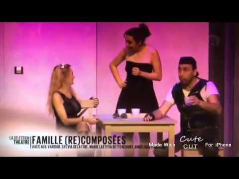 Famille recomposée piece de theatre