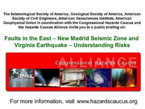 Faults In The East - New Madrid Fault Zone And Recent Virginia Earthquake - Understanding Risks