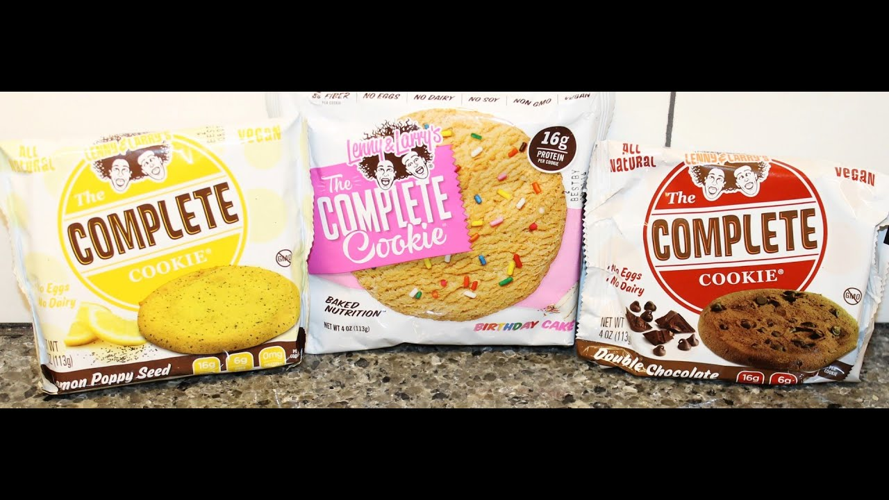 Lenny Larrys The Complete Cookie Lemon Poppy Seed Birthday Cake Double Chocolate
