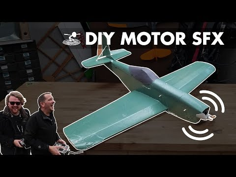 DIY SFX on DIY Plane!
