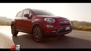 Fiat 500X 2015 - first test drive only sound