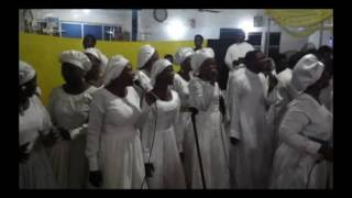 olajuwon tejuosho cathedral choir ministering at ore ofe parish 2016