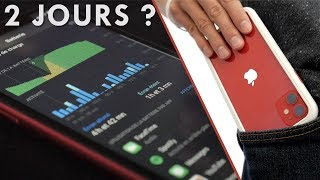 Test batterie iPhone 11 ! 2 jours sans recharge ?