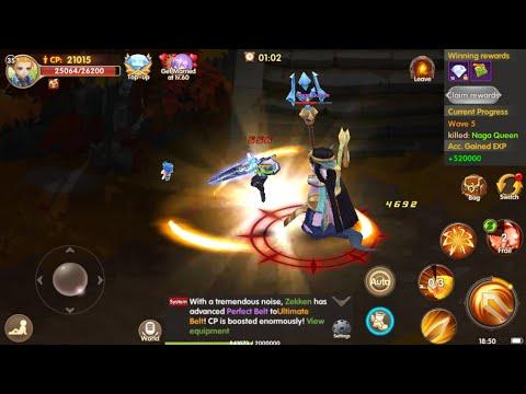 Light Chaser • Android MMORPG