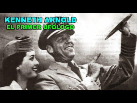 KENNETH ARNOLD - Primer ufólogo