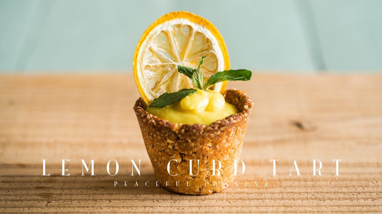 Lemon Curd Tart (vegan) ☆ レモンカードタルトの作り方
