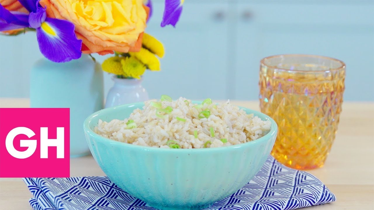How to Cook the Best Brown Rice | Test Kitchen Secrets | GH - YouTube