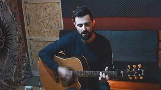 Can't Feel My Face - The Weeknd (acoustic cover by Louis Vlahakis)