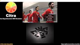 Citra 3DS Emulator - Pro Evolution Soccer 2011 3D Ingame! + audio dsp hle
