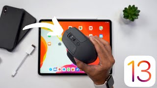 iPadOS 13 - Mouse Support Demo!