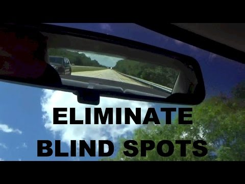 How To Adjust Your Car Mirrors To Eliminate Blind Spots SAE