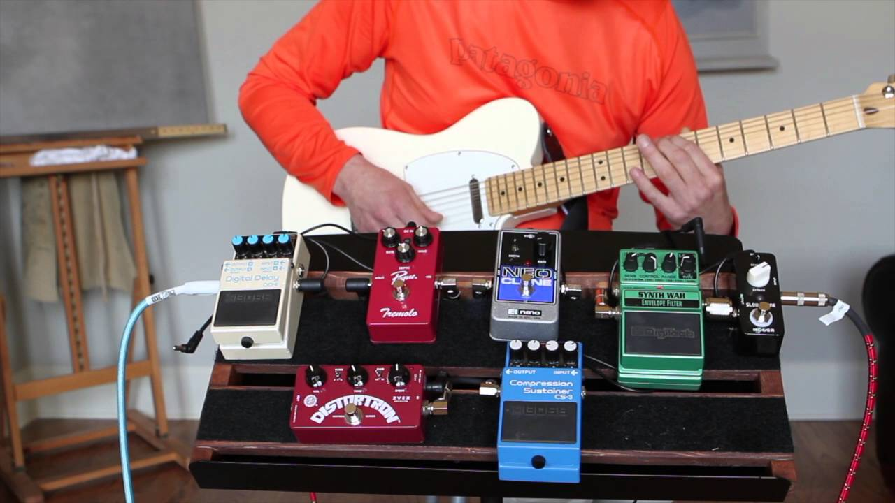 Digitech synth wah demo youtube.