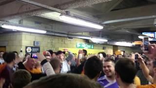 Wolves v Rotherham 18 4 2014 Half Time #Let