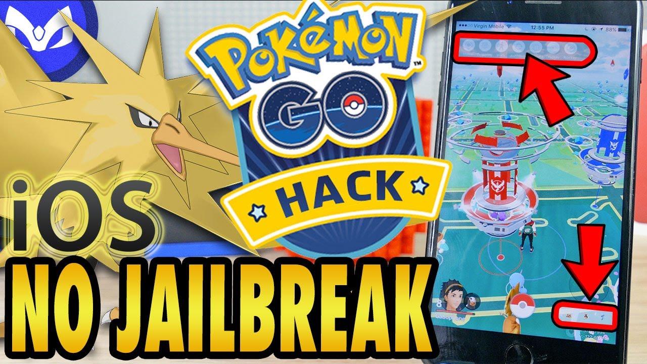 how to hack pokemon go ios