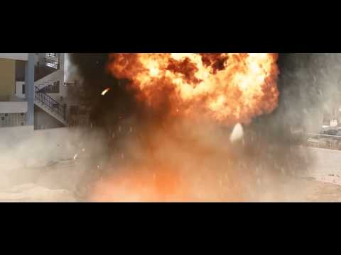 After effects explosion with action essentials 2