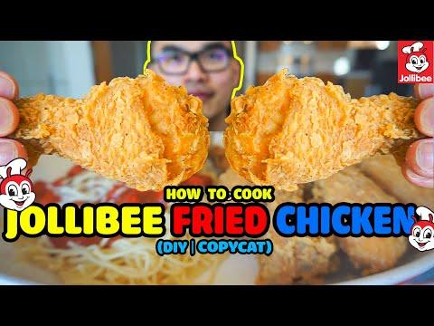How to cook my twist on JOLLIBEE FRIED CHICKEN (CHICKENJOY)  | DIY | COPYCAT RECIPE