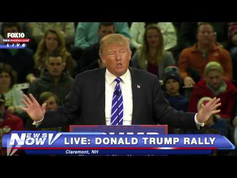 FNN: FULL Donald Trump Rally in Claremont, NH