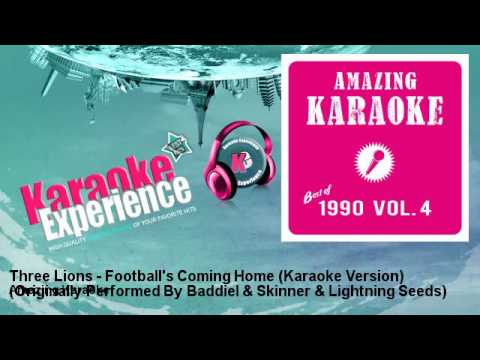Amazing Karaoke - Three Lions - Football's Coming Home (Karaoke Version)